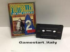FOOTBALLER OF THE YEAR 2 (COMMODORE 64 C64) USATO USED - TAPE