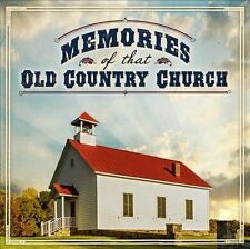 Memories of That Old Country Church by Various Artists CD, Oct-2013, Rebel #C1