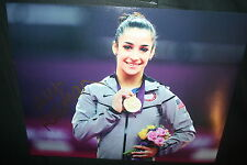 ALY RAISMAN SIGNED 11x14 photo DC/COA 2012 OLYMPICS (DANCING WITH THE STARS) 16