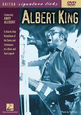Albert King Guitar Signature Licks DVD Instructional Guitar  DVD NEW 000320368