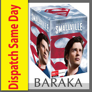 SMALLVILLE COMPLETE SERIES COLLECTION 1-10 DVD BOX SET 62 DISCS R4