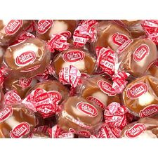 "Goetze's Caramel Cream ""Bulls Eyes"" -Five Pound Bag- GREAT DEAL!"