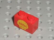 LEGO VINTAGE Brick with Shell Logo II Pattern 3004px17 / Set 648 355 621 325
