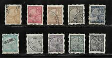 HICK GIRL- BEAUTIFUL USED PORTUGAL-INDIA STAMPS   1934 ISSUES   H1127