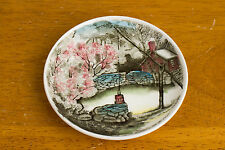 """Johnson Bros The Well  4.25"""" Butter Pat Plate Coaster Nut Dish - England"""