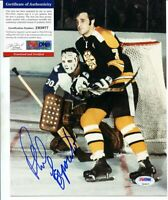 PHIL ESPOSITO - NHL BOSTON BRUINS - PSA DNA COA - SIGNED AUTOGRAPHED A446