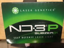 Laser Genetics ND-3P Sub Zero Green Laser Designator Pistol Light #LG-ND3P-SZ