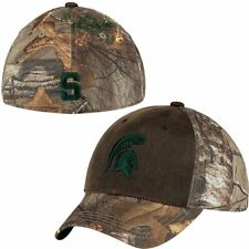 sale retailer 89336 a541e Michigan Statae Spartans Hat Memory Fit Top Of The World Habitat Realtree  M L