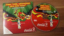 Coca Cola Promo Disc Stars, Tore, Emotionen UEFA Euro 2008 CD1 Gr. A+B (F6)