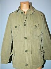 Canadian Army Combat Military Jacket , Made in Canada,  Men's Large