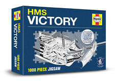HMS VICTORY 1000 PIECE HAYNES JIGSAW - NEW LORD HORATIO NELSON SHIP