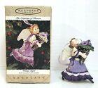 Hallmark Keepsake Ornament Pansy Angel The Language of Flowers 1996 Christmas