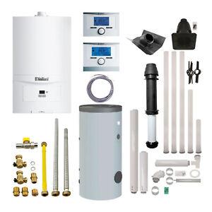 Vaillant Gas Heiztherme ecoTEC pure VC 146/7-2 E/H Brennwert Gastherme AP
