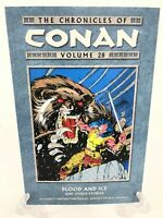 Chronicles of Conan Volume 28 Blood Ice Other Stories Dark Horse Comics TPB New