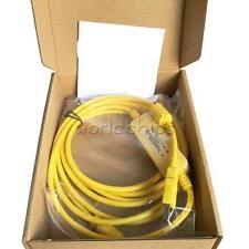 PLC Programming USB-SC09-FX Cable Mitsubishi FX0S/FX1S /FX0N /FX1N/FX2N Yellow