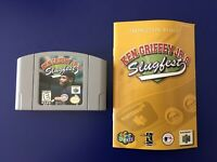 KEN GRIFFEY JR'S SLUGFEST NINTENDO 64 GAME PAK & INSTRUCTION BOOKLET