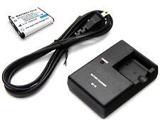 Battery + Charger for Fujifilm FinePix JZ110 JZ200 JZ250 JZ260 JZ300 JZ305 JZ500