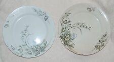 2 John Edwards Porcelaine De Terra Harvest Plates England Antique Vintage