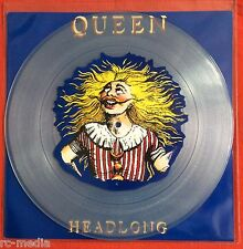 "QUEEN - Headlong - Rare UK 12"" Picture Disc / Clear Vinyl with picture insert"