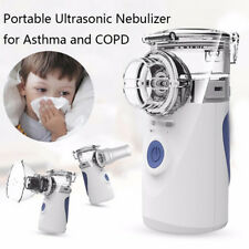 Portable Operated Replaceable Battery Ultrasonic Nebulizer Asthma and COPD RAHN
