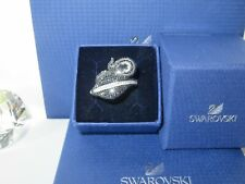 "🎁🎄 GENUINE Swan Signed SWAROVSKI James Bond ""Queen Cobra"" Ring  - Size 58 🎄🎁"