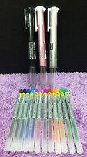 3x Uni-Ball 5in1 Pens + 12 refills Style Fit Value Set Japen Pen 0.38mm UMR-109
