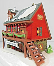 SANTA'S WOODWORKS #56286  DEPARTMENT 56 RETIRED NORTH POLE SERIES
