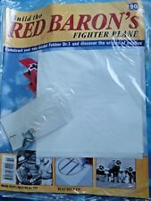 Build The Red Baron's Fighter Plane Fokker Dr.1  Hachette Issue  90  New Sealed