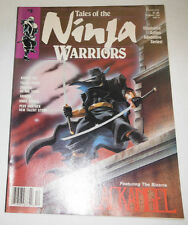 Ninja Warriors Magazine Kabuki Kid & Fallen Angel December 1988 081914R
