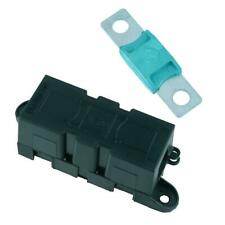 Panel Mount Inline Mega Fuse Holder + 125A Fuse Car Van Marine Truck 12V 24V