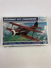 ESCI 1/48 Scale BeechCraft G17S Stagger Wing Model Kit