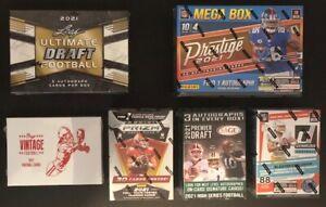 Miami Dolphins (6) Box Football Break Leaf Ultimate Draft *Donruss* Prestige