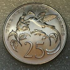 1971 JAMAICA  🇯🇲  QUARTER 25 CENTS Coin, MATTE 4,834 MINTED, flat rate S/H