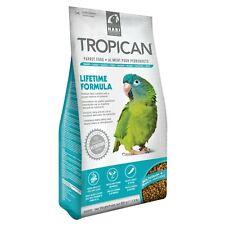 New listing Hari Hagen Tropican Lifetime Formula 4 mm Granules Parrot Food #80530