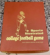 VTG SPORTS ILLUSTRATED COLLEGE FOOTBALL GAME 1971 32 ALL TIME TEAMS PLAY CARDS