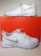 Nike Womens Size 8.5 T-Lite XI White Leather Cross Training Shoes ZE-344
