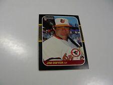 Jim Dwyer 1987 Donruss card #418