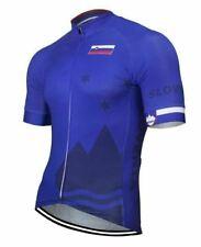 Slovenia Short Sleeve Cycling Jersey Free Shipping