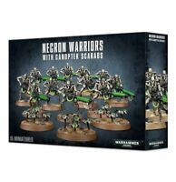 Necron Warriors with Canoptek Scarabs Squad Warhammer 40K NIB Flipside