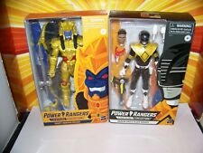 Power Rangers Lightning Collection Black Ranger + Goldar MMPR 6 Inch Hasbro