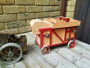 Ransomes threshing machine ideal for live steam traction engine agriculture