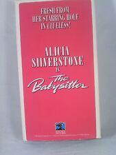 The Babysitter RARE VHS promo reel. Alicia Silverstone 1995