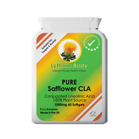 CONJUGATED LINOLEIC ACID SAFFLOWER OIL 1000MG PER CAPSULE CLA 50% WEIGHT LOSS
