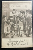 1941 Feldpost Germany Picture Postcard Cover Soldiers Recipe