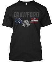 Crawford Family Honors Veterans Hanes Tagless Tee T-Shirt