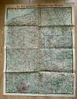 WW1 German map of the front '1918 Offensive'