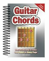 Guitar Chords Easy-to-Use, Easy-to-Carry, One Chord on Every Page 9780857752635