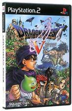 PS2-Dragon Quest V 5-Japan import DQ Enix J du Japon