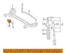 TOYOTA OEM 03-08 Corolla Rear Suspension-Crossmember Bushing 4872502230