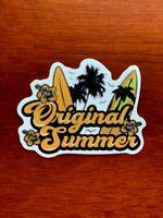 Skeleton Surfing Sticker WATERPROOF Hang 10 Funny Unique Vinyl Decal NEW